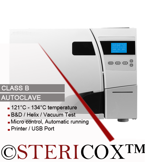 Class B Sterilizer Dental Autoclave Suppliers India